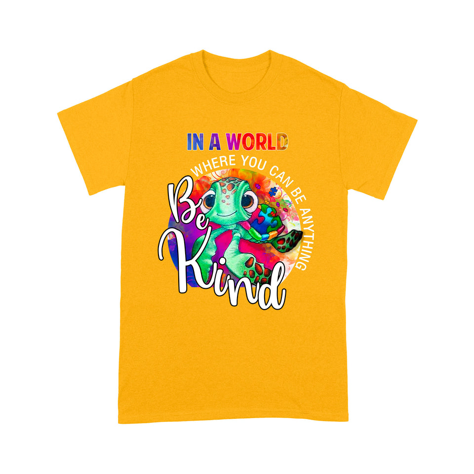 Be Kind Squirt Turtle Autism T Shirt