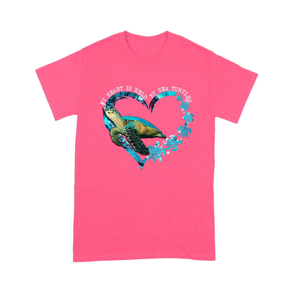 My Heart Is Held By Sea Turtle T Shirt