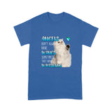 Angel Don't Always Have Wings Sometimes They Have Whiskers Persian Cat T Shirt Lovely