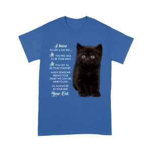 Always Be By Your Side Black Cat T Shirt Funny