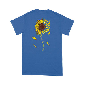 Sloth You Are My Sunshine Sunflower Funny Design Tshirt
