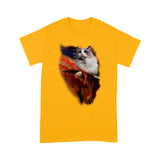 USA Ragdoll Cat T Shirt Beautiful