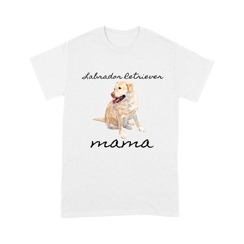 Labrador Retriever Mama T Shirt