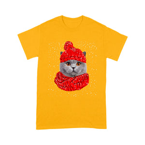 British Shorthair Cat T Shirt Funny