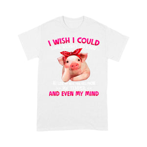 Pig Lose Weight Funny Design Tshirt