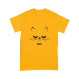 Cat Lovely Cute Funny Print T shirt