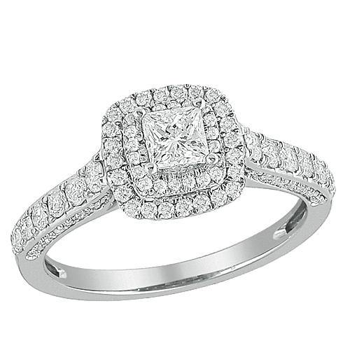 14KW 1.00CTW DIAMOND RING