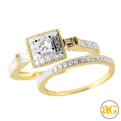10KW 0.50CTW DIAMOND LADIES RING