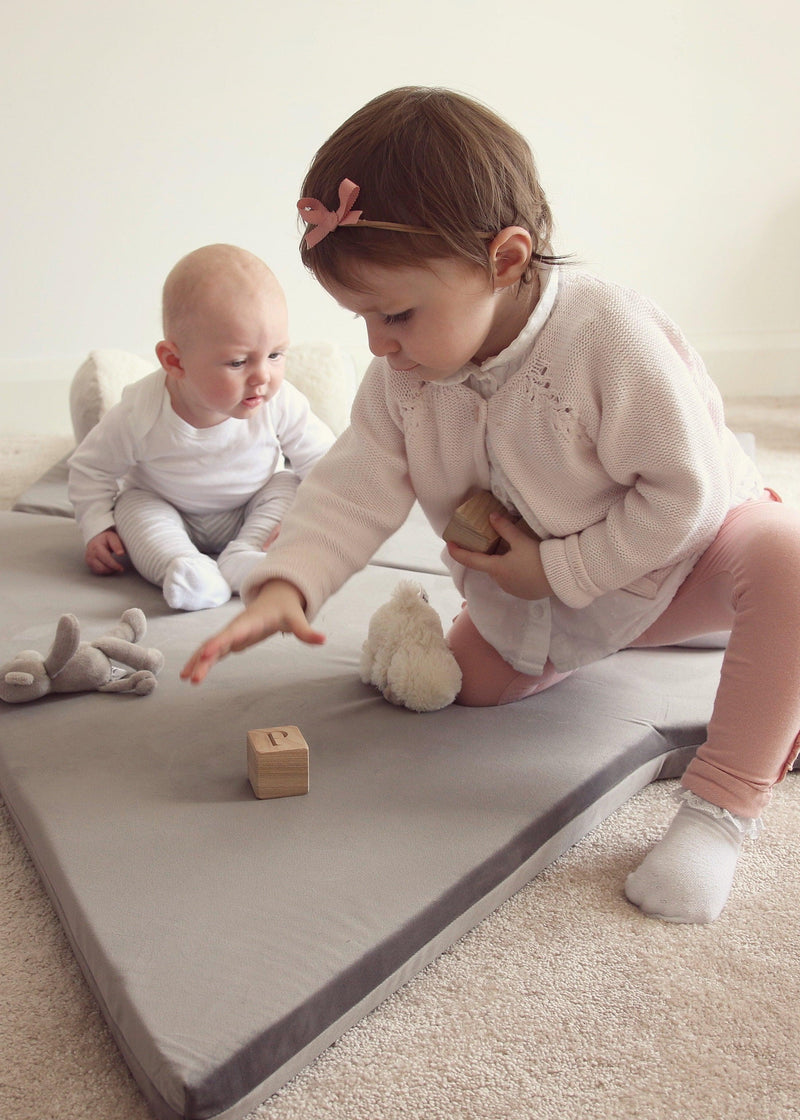 Star play mat grey Childs playroom Lucy and me