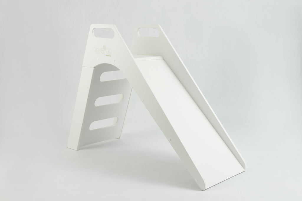 WOODEN SLIDE WHITE