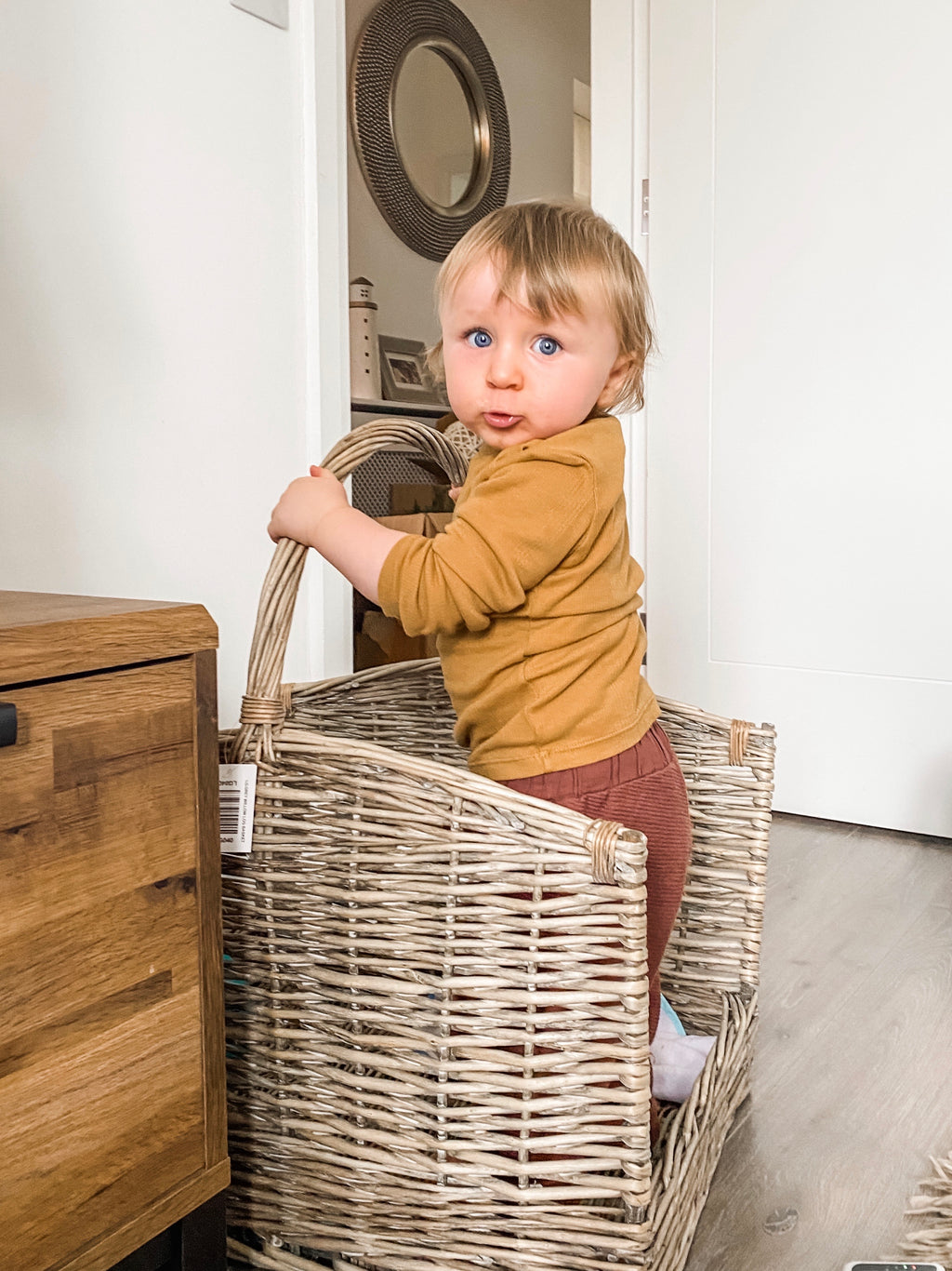 LOG BASKET - ARRIVING 1ST FEBRUARY