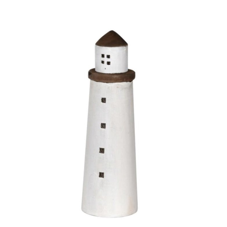 LARGE WOODEN LIGHT HOUSE