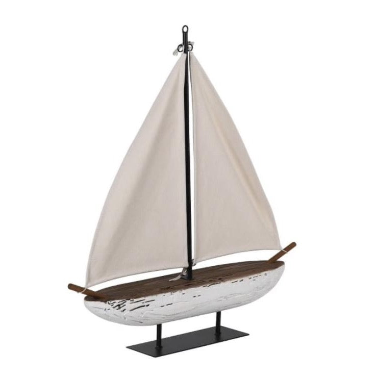 LUXURIOUS WOODEN SAILBOAT