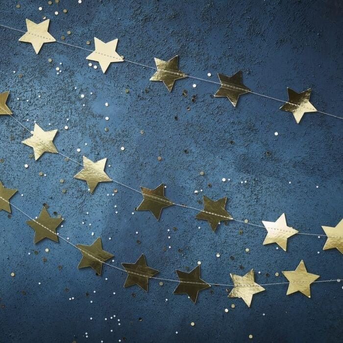 GOLD STAR BUNTING