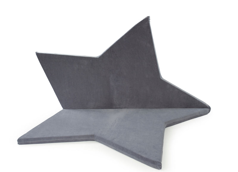 Star playmat grey Childs bedroom Lucy and me