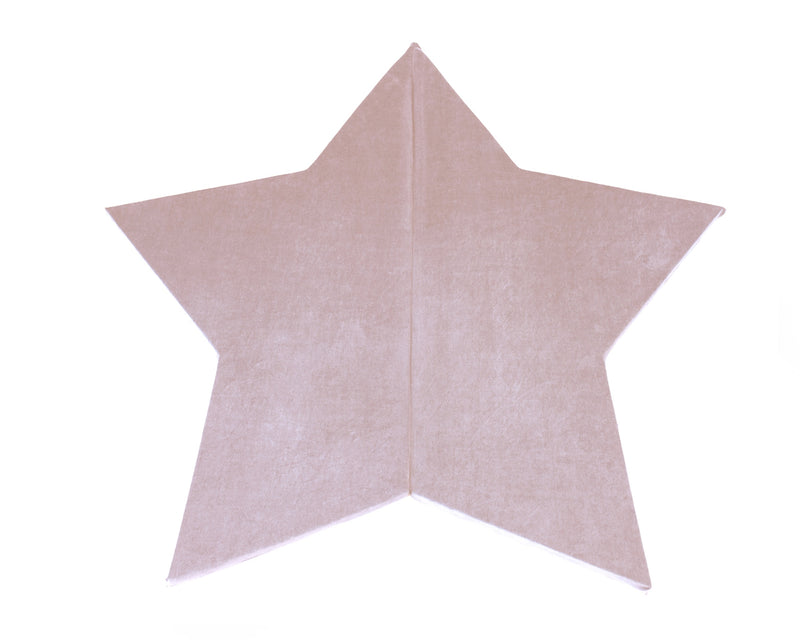 Star play mat pink Childs playroom Lucy and me