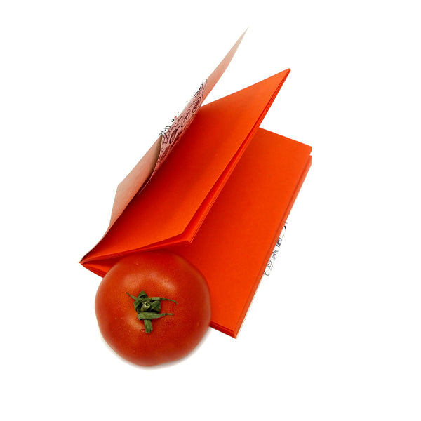 Tomato Plantable Seed Paper Cover Notebook