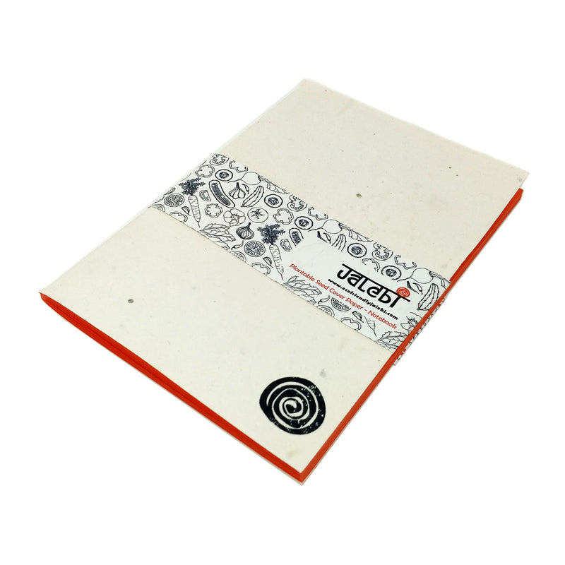 Tomato Plantable Seed Cover Paper-Notebook