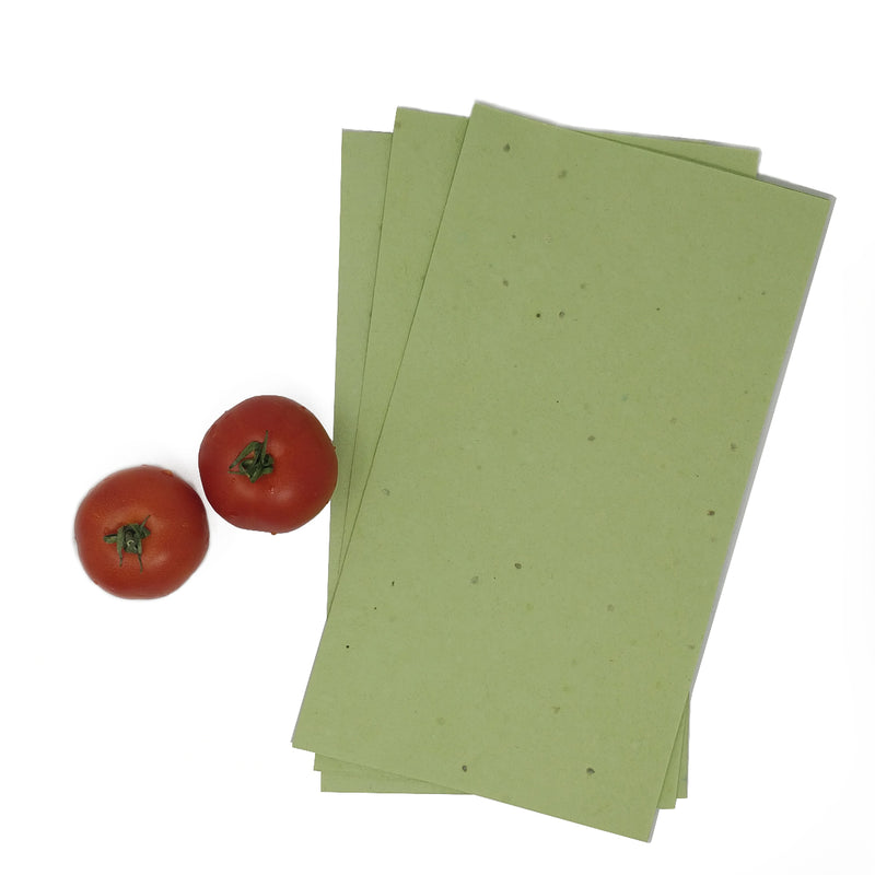 Tomato Plantable Seed Cover Paper