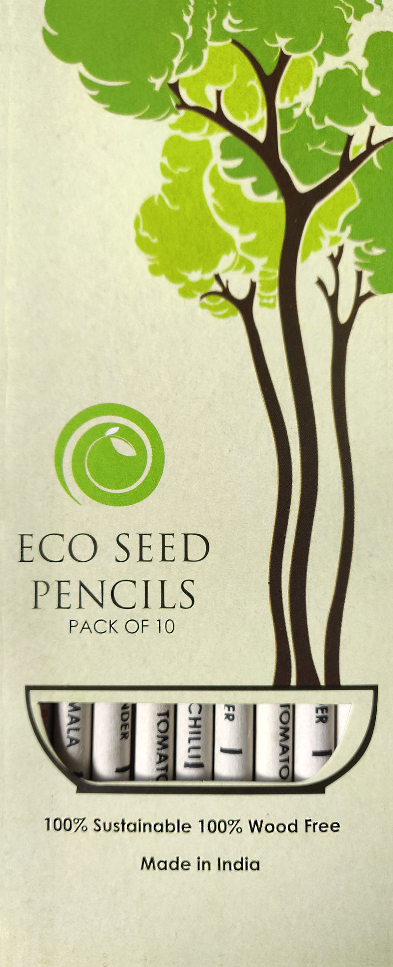 Ecoseed Plantable pencils (Pack of 10)