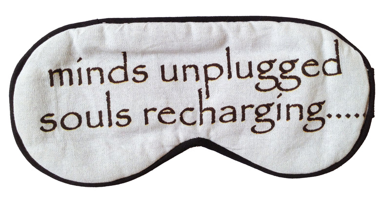 Mind Unplugged Soul Recharging Eyemask