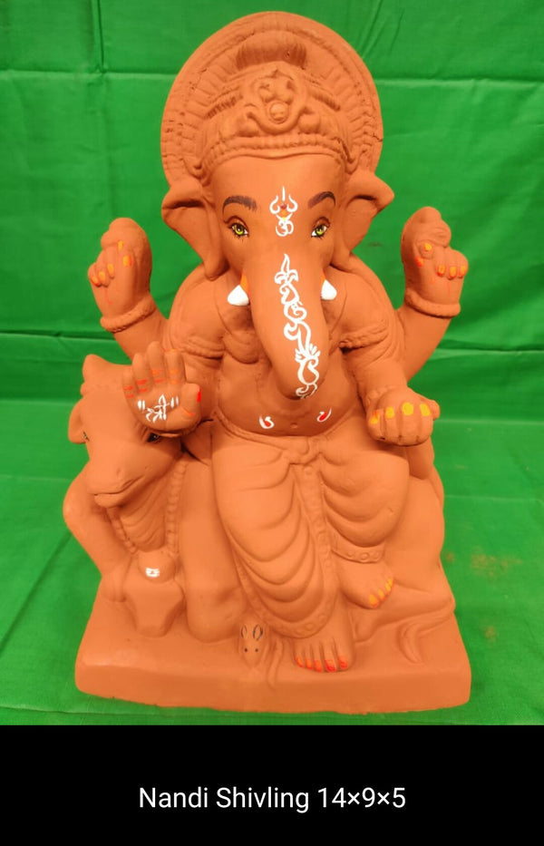 Grow Me Plantable Ecofriendly - Ganpati with Nandi