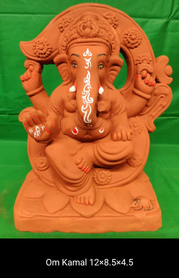 Grow Me Plantable Ecofriendly - Ganpati with OM Background