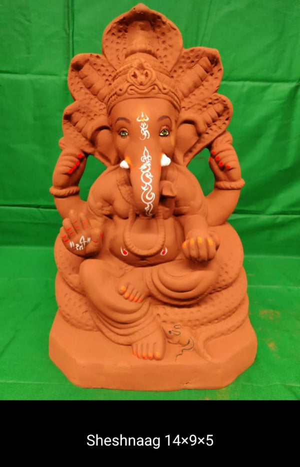 Grow Me Plantable Ecofriendly - Sheshnaag Ganpati (14 inch)