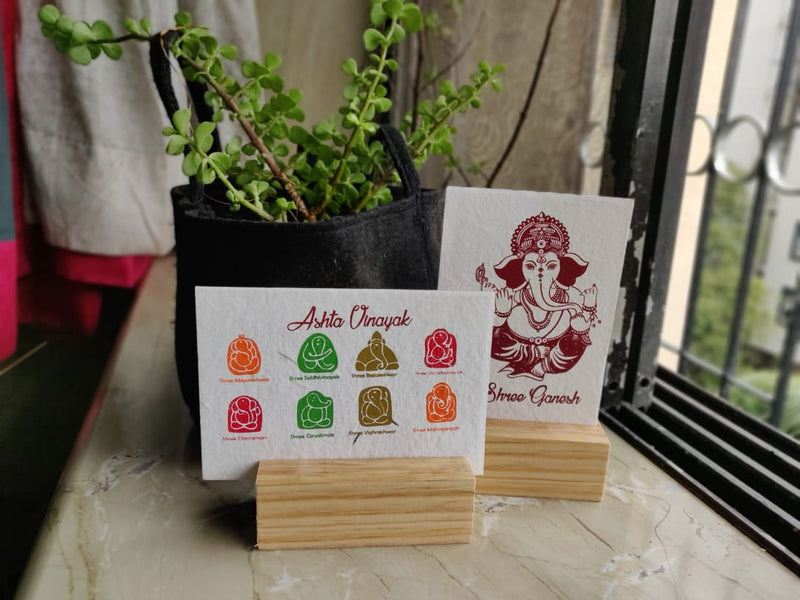Blooming Shree Ganesha Cards