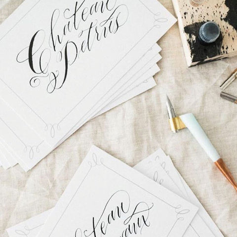 chateau calligraphy