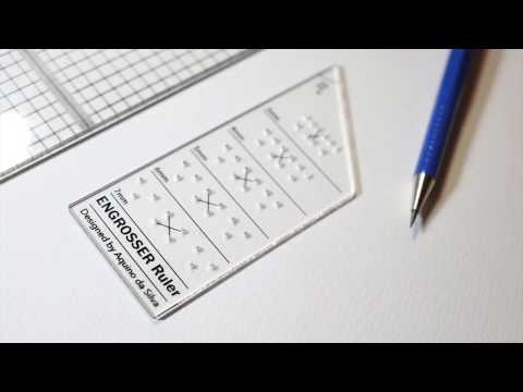 The Essential Calligraphy Ruler