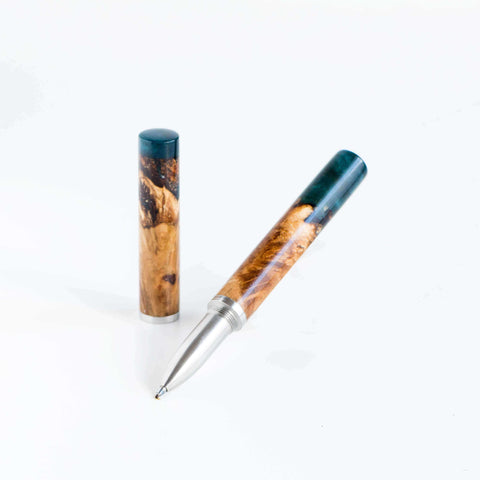 Dorset Oak & Deep Blue - Studio Pen