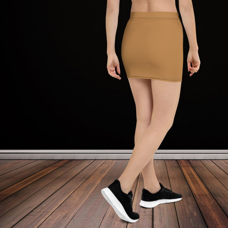 Nude Mini Skirt - Molecule Design-Online