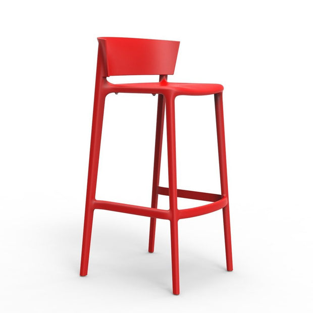 Africa Bar Stool - Set of Four, [Molecule Design]