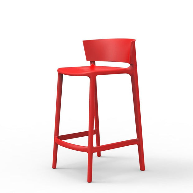 Africa Counter Stool - Set of Four, [Molecule Design]