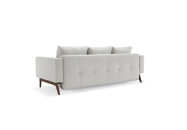 Cassius Quilt Sofa - Wood, Chrome - (Full) - Molecule Design-Online