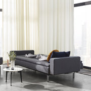 Dublexo Deluxe Sofa w/Arms, Stainless Steel, Furniture - Molecule Design