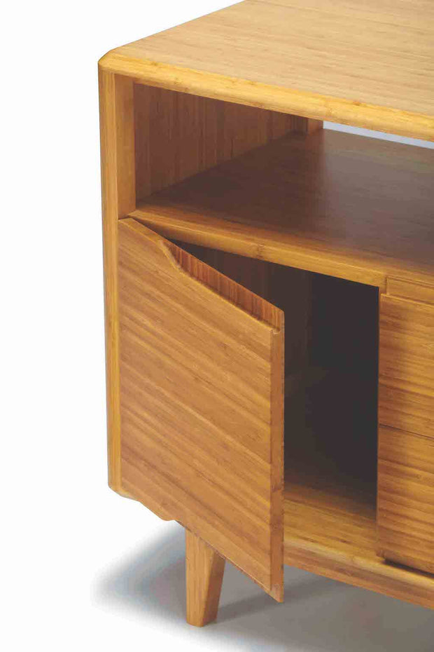 Currant Media Cabinet, [Molecule Design]
