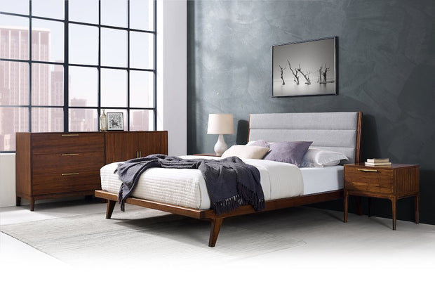 Mercury Upholstered Platform Bed - Molecule Design-Online