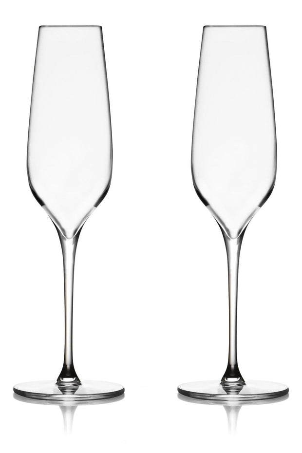 Vie Flutes (Set of 2), [Molecule Design]