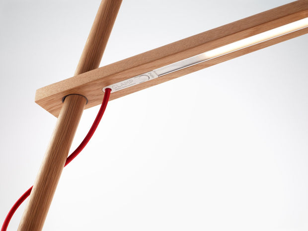 Clamp Floor Lamp, [Molecule Design]