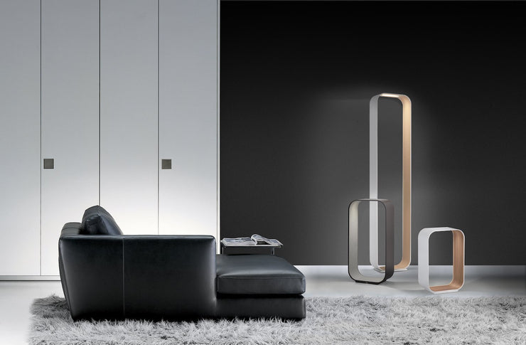 Contour Table and Floor Lamp, [Molecule Design]