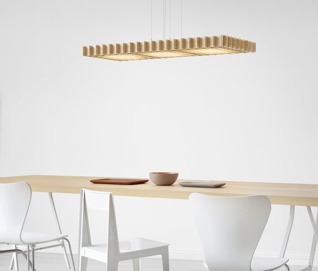 Grid Pendant Lamp, [Molecule Design]