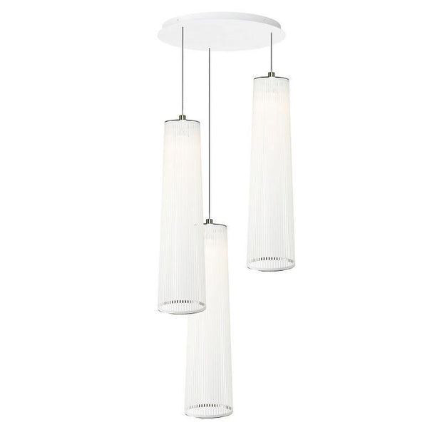 Solis Chandelier 3 lamps, [Molecule Design]