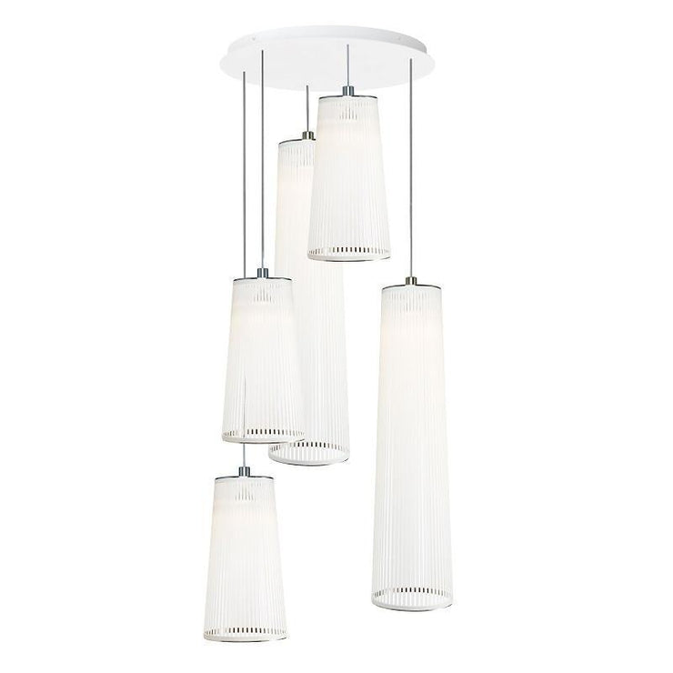 Solis Chandelier 5 lamps - Molecule Design-Online