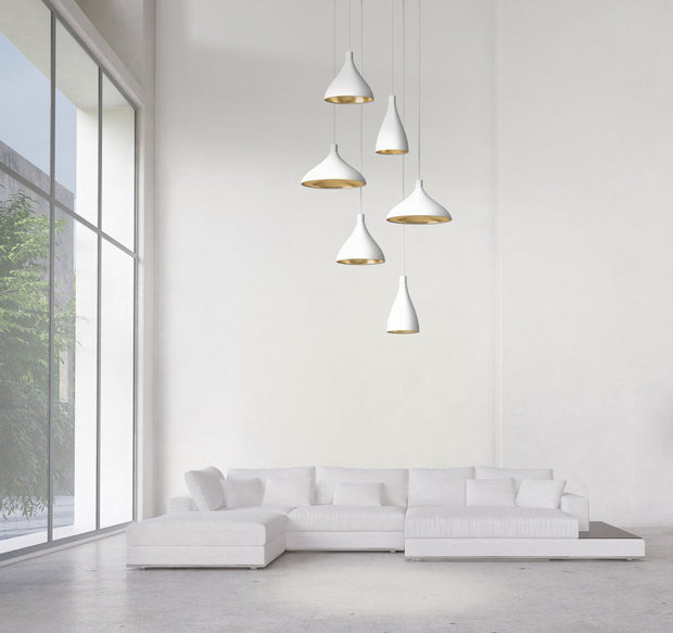 Swell Chandelier, [Molecule Design]