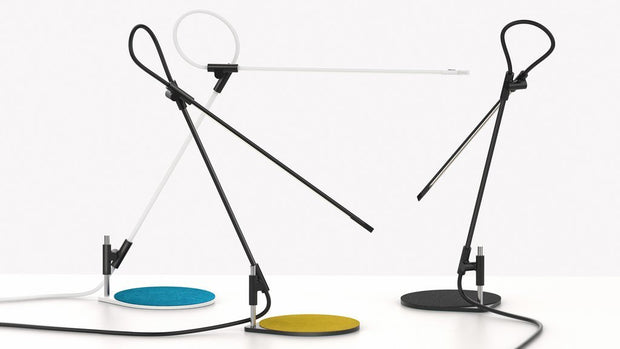 Superlight Floor/Table Lamp, [Molecule Design]
