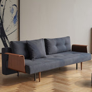 Recast Plus Sofa w/Walnut Arms, [Molecule Design]