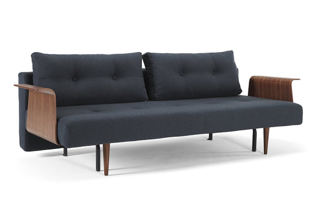 Recast Plus Sofa w/Walnut Arms - Molecule Design-Online