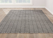 Waveny - Outdoor/Indoor Rug, [Molecule Design]